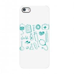 """Чехол для Apple iPhone с принтом """"Медицинский набор"""""""