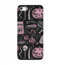 """Чехол для Apple iPhone с принтом """"Хэллоуинские сладости"""""""