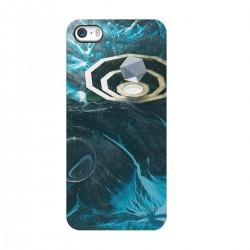 """Чехол для Apple iPhone с принтом """"Космический кристалл"""""""