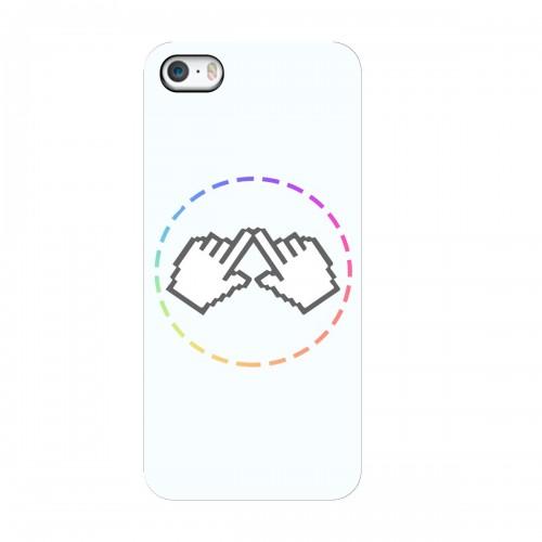"""Чехол для Apple iPhone 5/5S/SE с принтом """"Логотип"""""""
