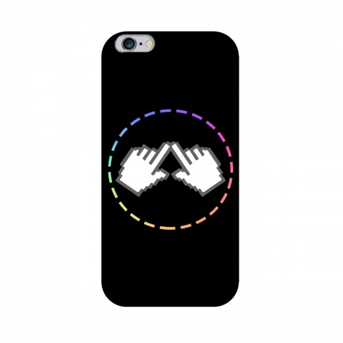 """Чехол для Apple iPhone 6+ с принтом """"Логотип"""""""