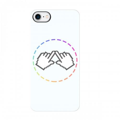 """Чехол для Apple iPhone 7 с принтом """"Логотип"""""""