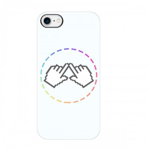 """Чехол для Apple iPhone 8 с принтом """"Логотип"""""""