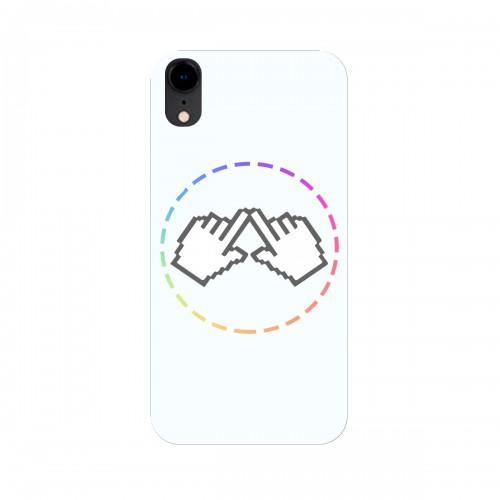 """Чехол для Apple iPhone XR с принтом """"Логотип"""""""