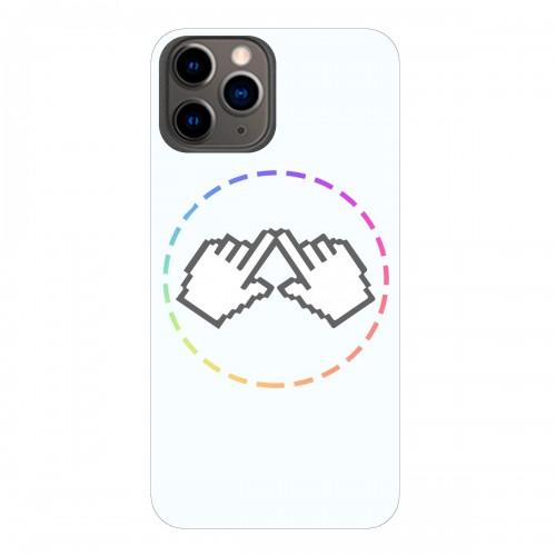 "Чехол для Apple iPhone 11 Pro Max с принтом ""Логотип"""