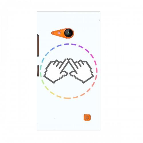 "Чехол для Microsoft Lumia 730 с принтом ""Логотип"""