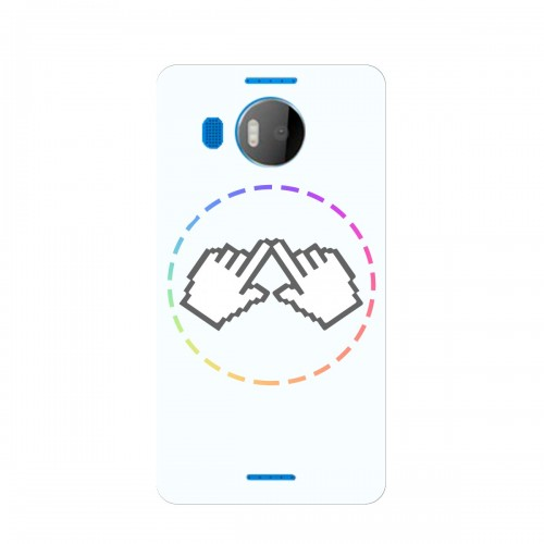 "Чехол для Microsoft Lumia 950 XL с принтом ""Логотип"""