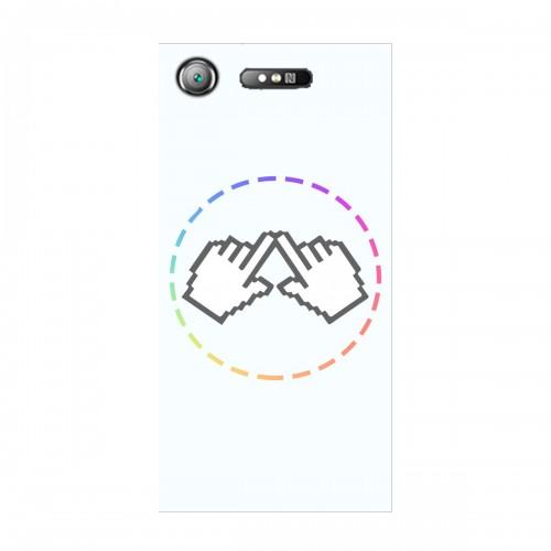 "Чехол для Sony Xperia XZ1 (2017) с принтом ""Логотип"""