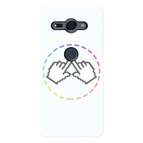 """Чехол для Sony Xperia XZ2 Compact (2018) с принтом """"Логотип"""""""