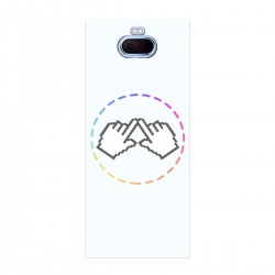 "Чехол для Sony Xperia 10 с принтом ""Логотип"""