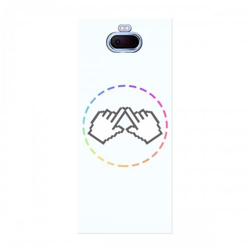 "Чехол для Sony Xperia 10 Plus с принтом ""Логотип"""
