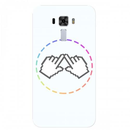 """Чехол для Asus ZenFone 3 Laser 5.5/ZC551KL с принтом """"Логотип"""""""