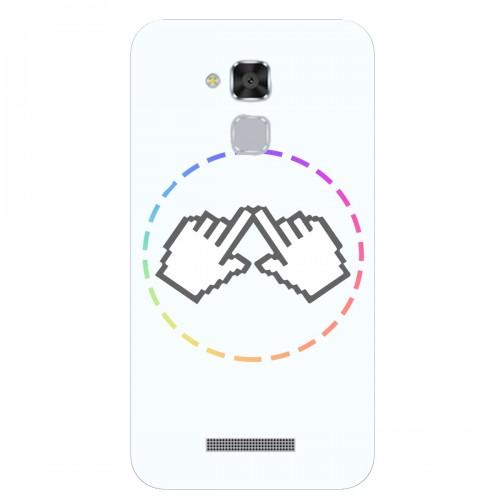 "Чехол для Asus ZenFone 3 Max/ZC520TL с принтом ""Логотип"""