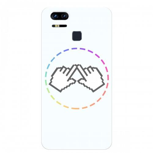 "Чехол для Asus ZenFone 3 Zoom/ZE553KL с принтом ""Логотип"""