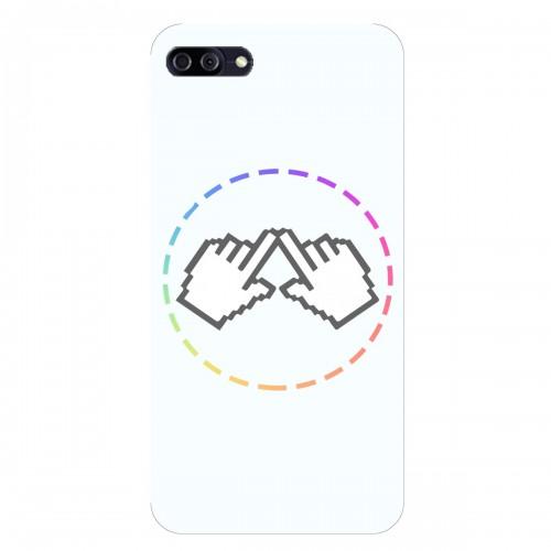 """Чехол для Asus ZenFone 4 Max/ZC554KL с принтом """"Логотип"""""""