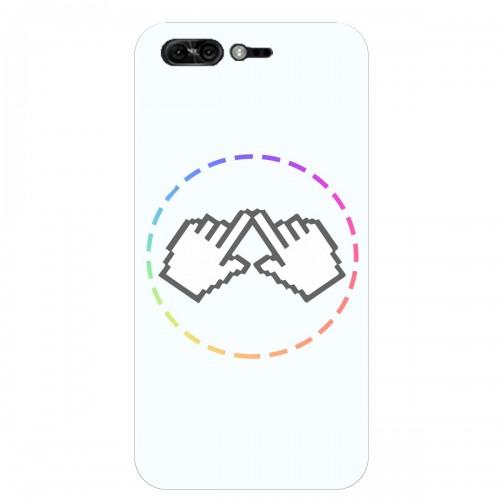 """Чехол для Asus ZenFone 4 Pro/ZS551KL с принтом """"Логотип"""""""