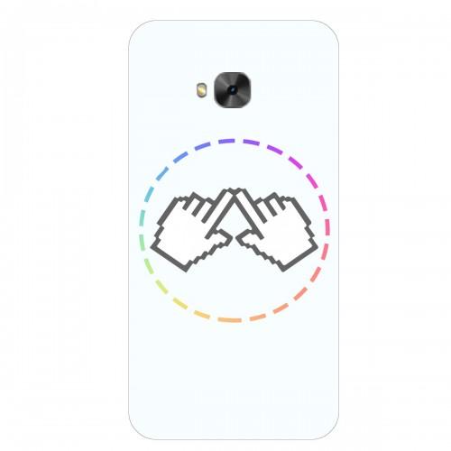 """Чехол для Asus ZenFone 4 Selfie Pro/ZD552KL с принтом """"Логотип"""""""