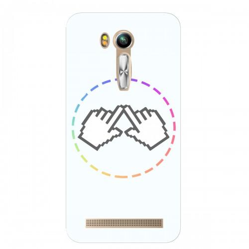 """Чехол для Asus ZenFone Go/ZB450KL с принтом """"Логотип"""""""