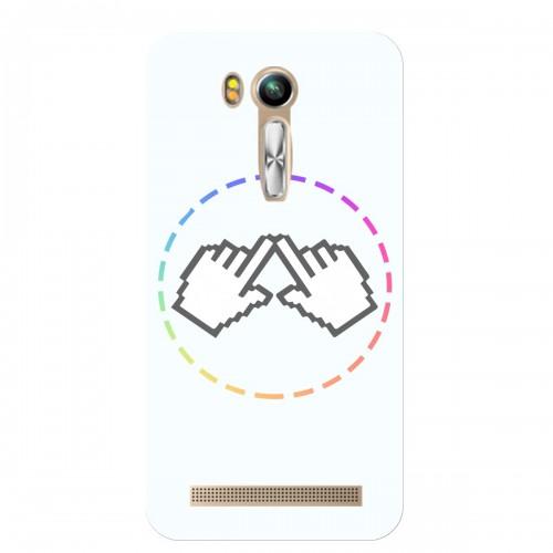 """Чехол для Asus ZenFone Go/ZB452KG с принтом """"Логотип"""""""