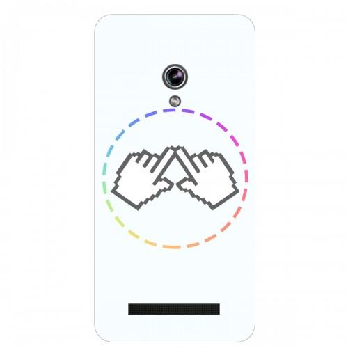 """Чехол для Asus ZenFone Go/ZC500TG с принтом """"Логотип"""""""
