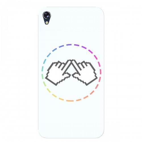 """Чехол для Asus ZenFone Live/ZB501KL с принтом """"Логотип"""""""