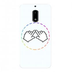 """Чехол для Nokia 6 с принтом """"Логотип"""""""