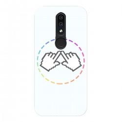 """Чехол для Nokia 4.2 с принтом """"Логотип"""""""