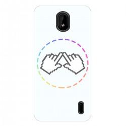 """Чехол для Nokia 1 plus с принтом """"Логотип"""""""