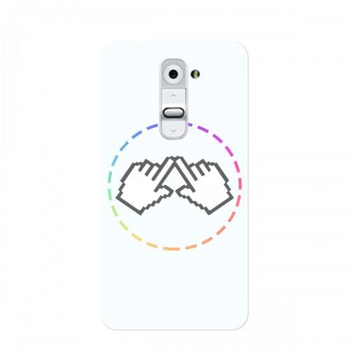 """Чехол для LG G2/D802 с принтом """"Логотип"""""""