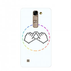 """Чехол для LG G4c/H522Y/H525 с принтом """"Логотип"""""""