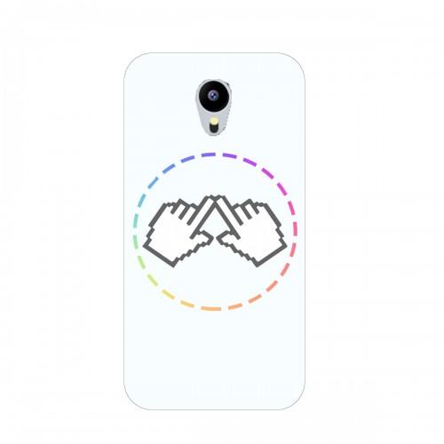 """Чехол для Meizu MX5 Pro с принтом """"Логотип"""""""