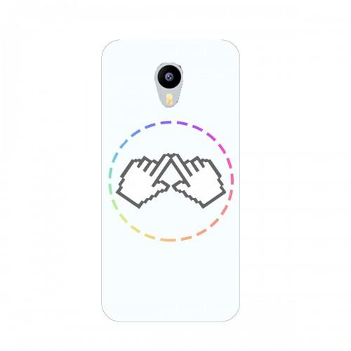 """Чехол для Meizu M3 Max с принтом """"Логотип"""""""
