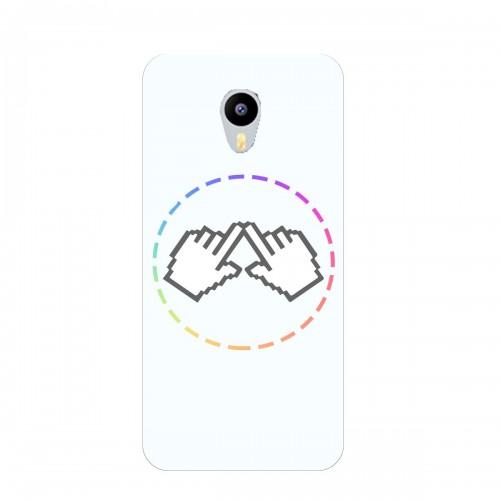 """Чехол для Meizu M3 Note с принтом """"Логотип"""""""