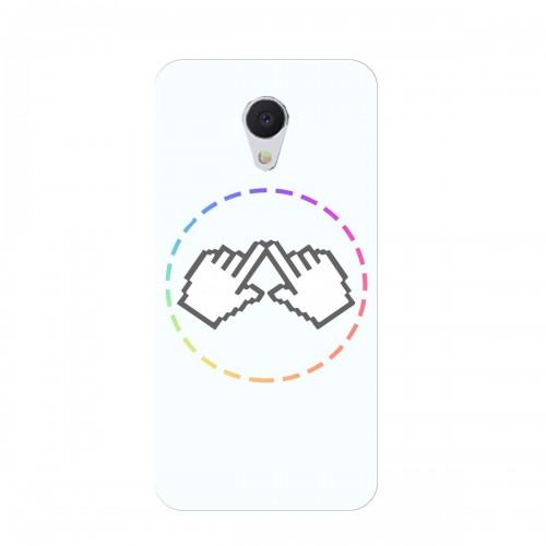 """Чехол для Meizu M5 Note с принтом """"Логотип"""""""