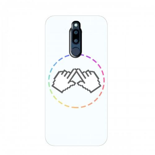 """Чехол для Meizu M6T с принтом """"Логотип"""""""