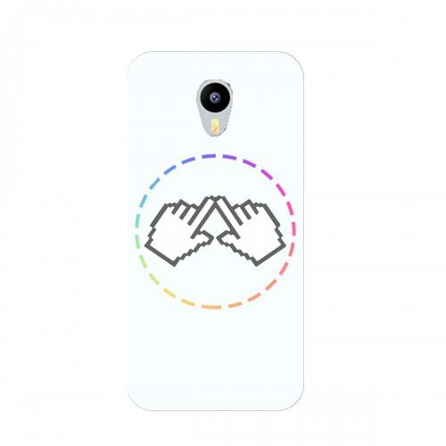 """Чехол для Meizu MX4 Pro с принтом """"Логотип"""""""