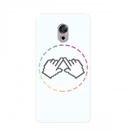 """Чехол для Meizu Pro 6 с принтом """"Логотип"""""""