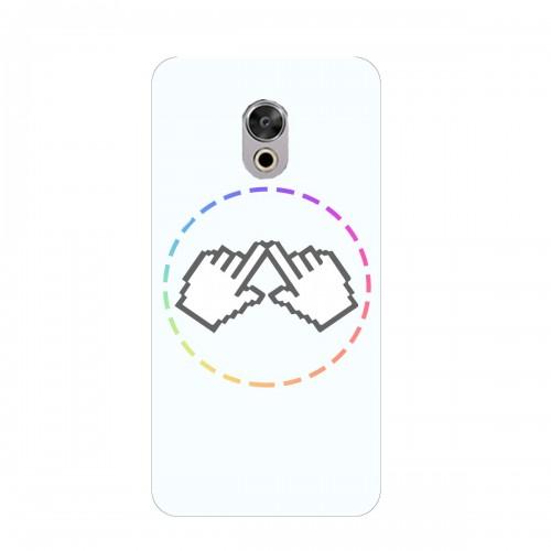 """Чехол для Meizu Pro 6s с принтом """"Логотип"""""""
