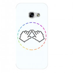 """Чехол для Samsung Galaxy A3 (2017) с принтом """"Логотип"""""""