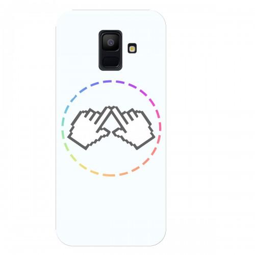 """Чехол для Samsung Galaxy A6 (2018) с принтом """"Логотип"""""""