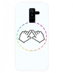 "Чехол для Samsung Galaxy A6 Plus (2018)/J 8 (2018) с принтом ""Логотип"""