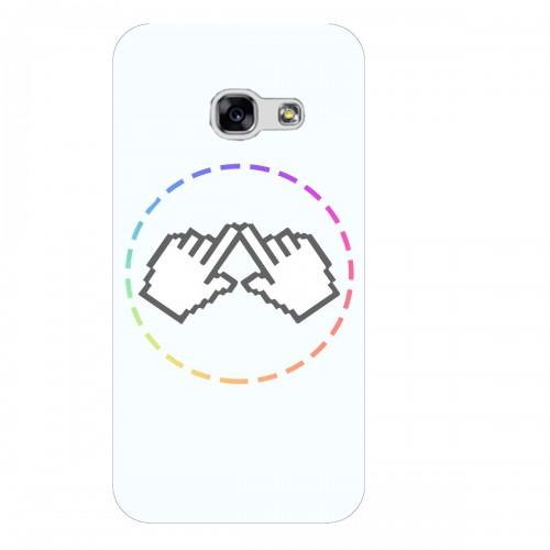 """Чехол для Samsung Galaxy A7 (2016) с принтом """"Логотип"""""""