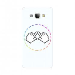 """Чехол для Samsung Galaxy A8 (2016) с принтом """"Логотип"""""""