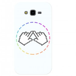 "Чехол для Samsung Galaxy Grand Prime/G530 с принтом ""Логотип"""