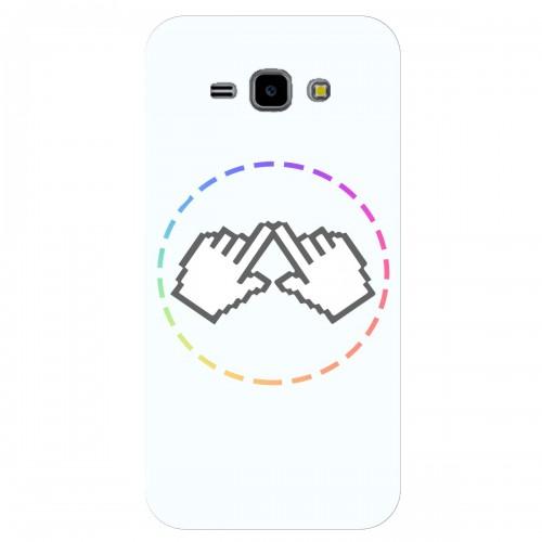 """Чехол для Samsung Galaxy J1 Ace/J110H/DS с принтом """"Логотип"""""""