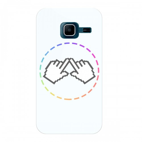 "Чехол для Samsung Galaxy J1 Mini (2015) с принтом ""Логотип"""