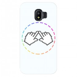 "Чехол для Samsung Galaxy J2 Pro (2018) с принтом ""Логотип"""
