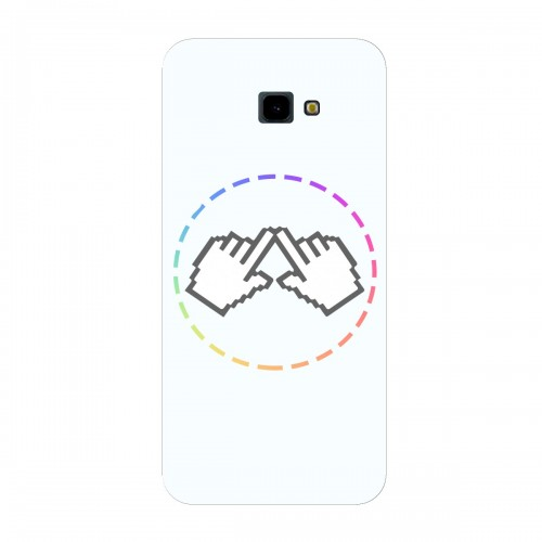 "Чехол для Samsung Galaxy J4 Plus (2018) с принтом ""Логотип"""
