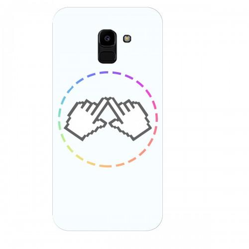 """Чехол для Samsung Galaxy J6 (2018) с принтом """"Логотип"""""""