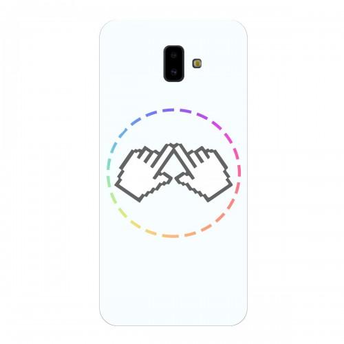 "Чехол для Samsung Galaxy J6 Plus (2018) с принтом ""Логотип"""
